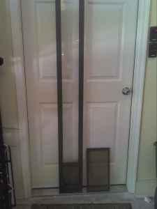 Pet door for sliding glass door sanford for sale in for Dog doors for sale