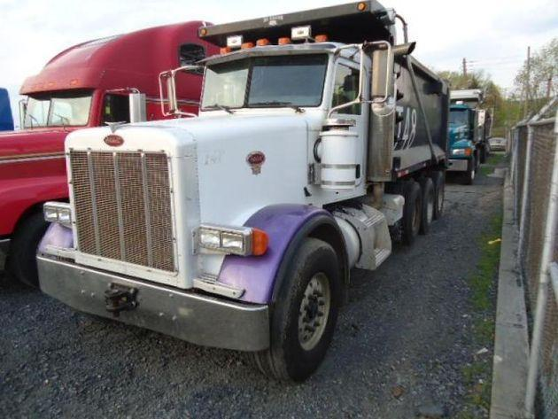 PETERBILT 378 QUAD AXLE DUMP TRUCK FOR SALE