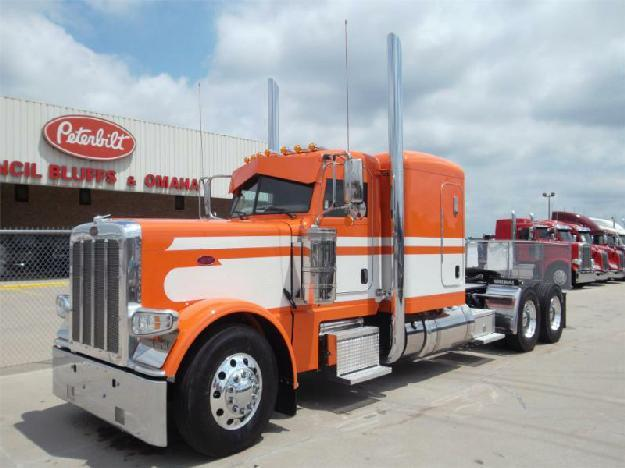 peterbilt 389 tandem axle sleeper for sale for sale in council bluffs iowa classified. Black Bedroom Furniture Sets. Home Design Ideas