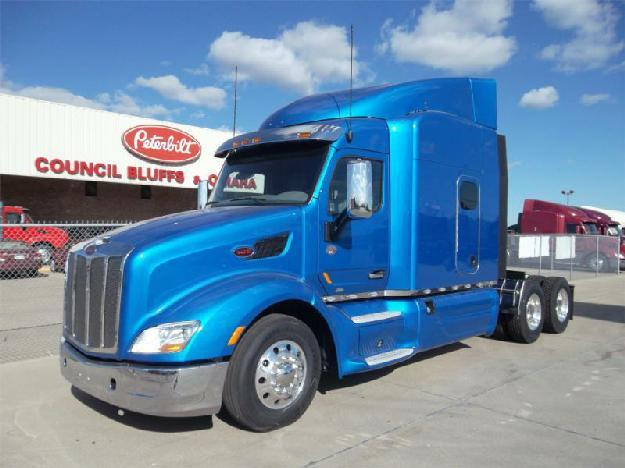 peterbilt 579 tandem axle sleeper for sale for sale in council bluffs iowa classified. Black Bedroom Furniture Sets. Home Design Ideas
