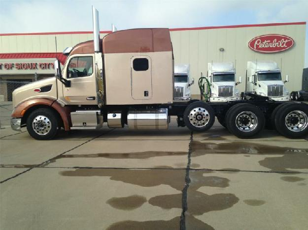 Peterbilt 579 tri axle sleeper for sale for sale in sioux city iowa