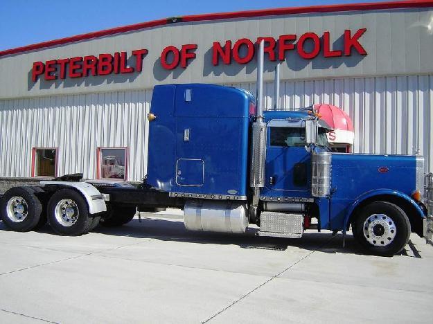 Single Axle Peterbilt 379 For Sale