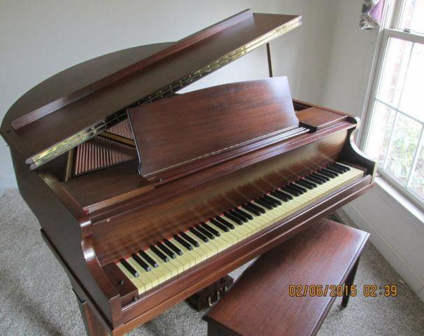 Petite Grand Piano 1939 Whitney W W Kimball For Sale In