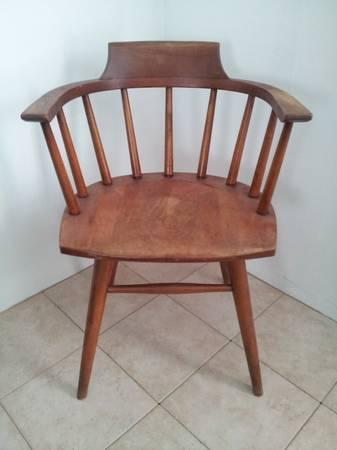 PHOENIX CHAIR COMPANY Antique Wooden Arm Chair For Sale In Springdale Arka