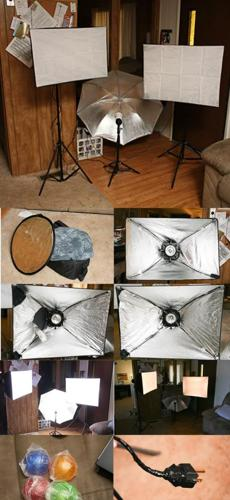 Photography Lighting Kit - $150 (Safford, Az)