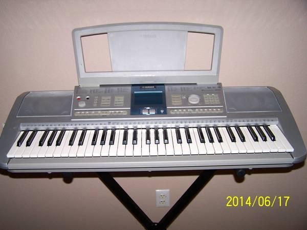 piano keyboard yamaha psrk1 for sale in prescott arizona classified. Black Bedroom Furniture Sets. Home Design Ideas
