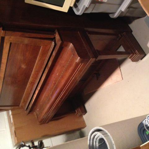 Piano - upright antique -