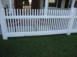 Picket Vinyl Fence Panels Summerville For Sale In