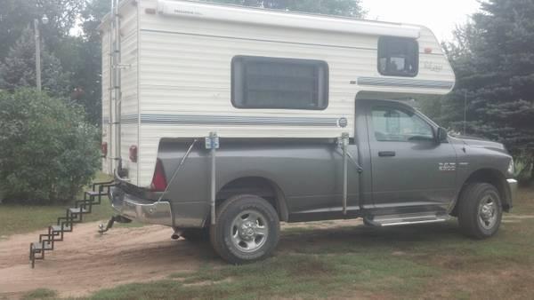 pickup camper - for Sale in Brainerd, Minnesota Classified