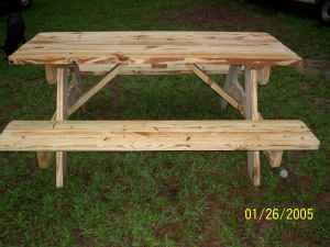 PICNIC TABLES FOR SALE Columbiams For Sale In Hattiesburg - Long picnic table for sale
