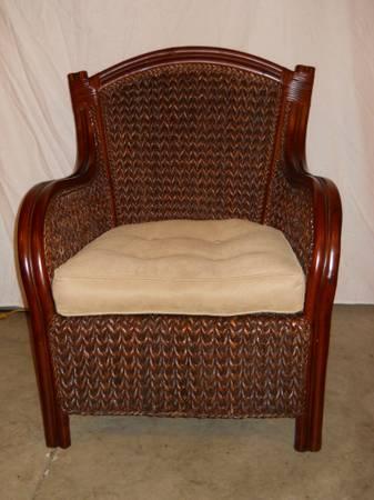 Pier 1 Wicker King Armchair For Sale In Keedysville Maryland Classified