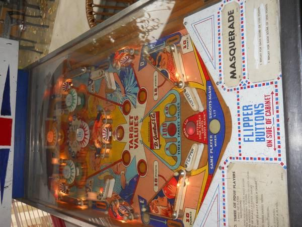 pinball 4 player 1965 gottleib - $525