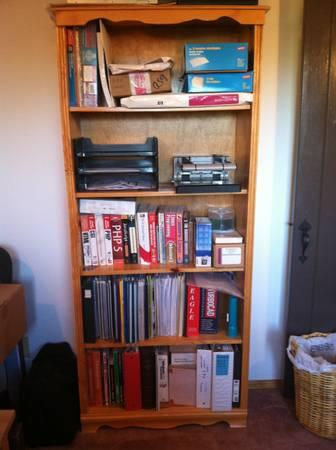 PINE BOOKSHELVES FOR SALE - $25