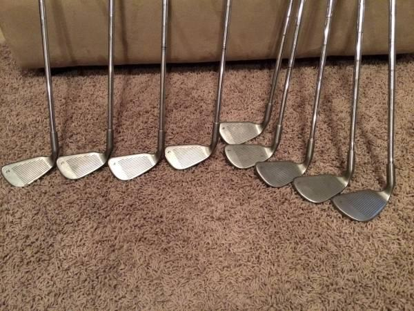 Ping Eye 2 Irons, Taylor Made Driver, and Stand Bag - $225