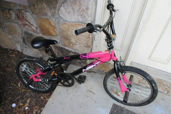 Bike Pegs For Sale Pink Bike w Back Pegs