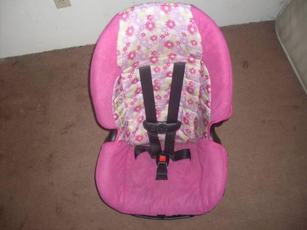 Pink Girls Car Seat - $25