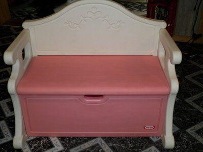 Pink Little Tikes Victorian Toy Box Bench Binghamton For Sale In Binghamton New York
