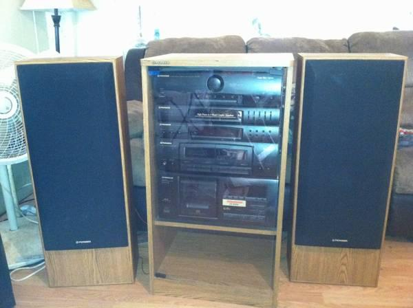 Pioneer Home Stereo System For Sale In Wichita Kansas