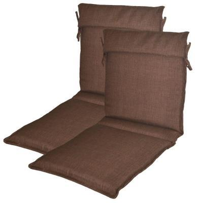 Plantation Patterns Brown Solid Patio Sling Chair