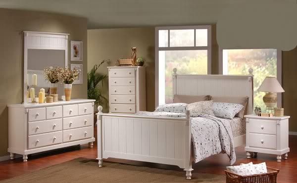 Plantation Style Bedroom Suite Solid Wood Brand New