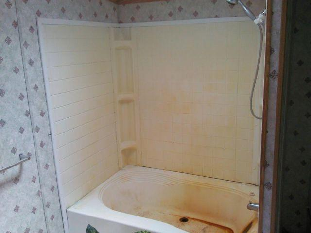 Plastic Mobile Home Bath Tub With Side Walls & Faucet! Pick Up Only ...