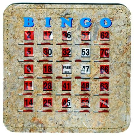 Play Bingo with Slide Cards Reuseable - $2