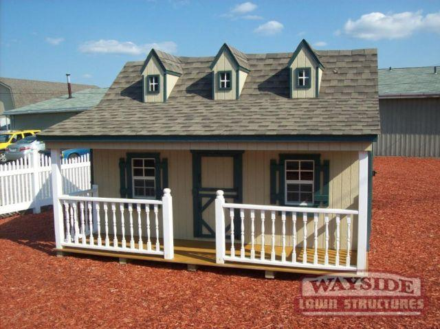 Playhouse 11 X12 Pennfield Repo Almost New For Sale