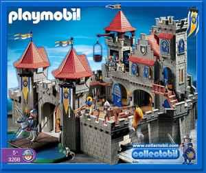 Playmobile Castle w/Custom Table - $125 (Greenville)