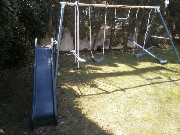 Playsafe Gym Set Swing Slide Seesaw For Sale In Roslyn Heights