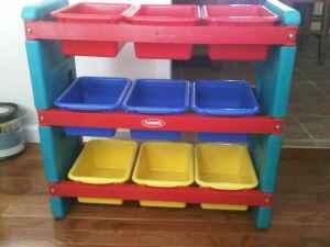 Playskool 9 Bin Toy Organizer Storage   $25