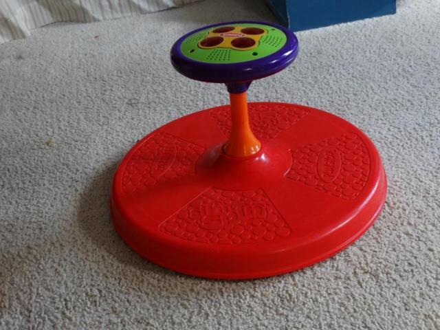 Playskool Musical Toys : Playskool musical sit and spin collectors or play for