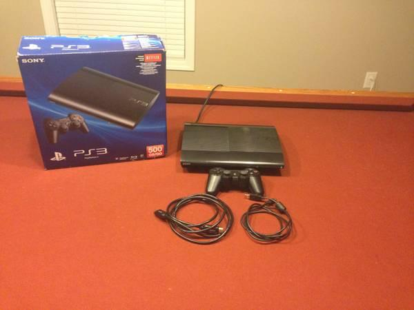 Playstation 3 500gb Slim - PS3 - $230