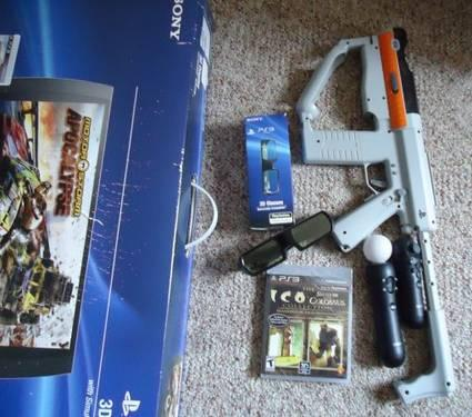 Playstation 3 Accessories (Playstation 3D TV, PS3 Move