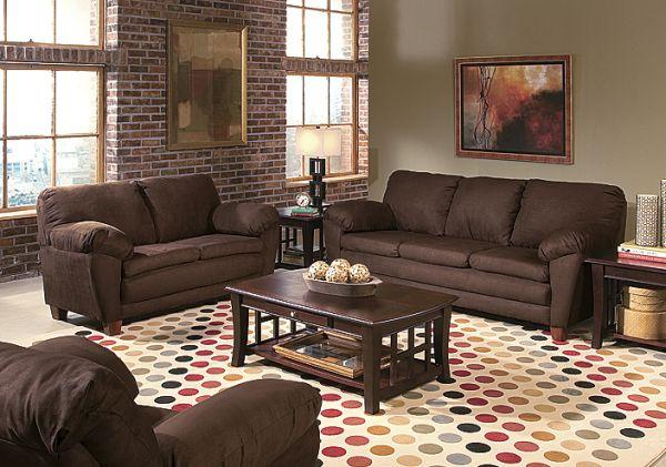 Plush Love Seat And Sofa Greece Ny For Sale In
