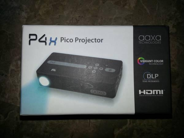 pocket projector and screen - $325