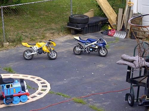 Pocket Rocket Motorcycle Mini Racing Bikes