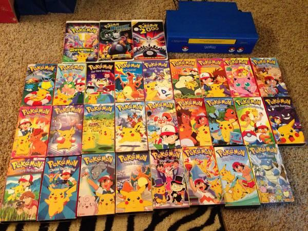 Pokemon VHS and VCR - $65