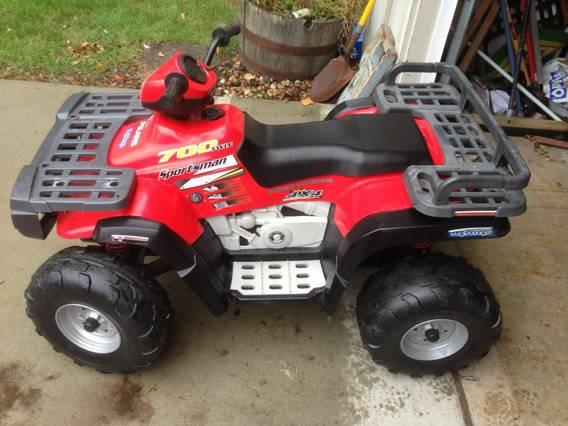 polaris toy 4 wheeler - $150