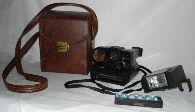 Polaroid PRONTO SONAR One-Step Camera w/Automatic Flash