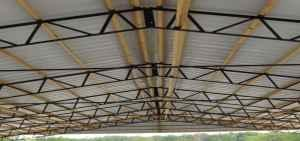 Pole Barn With Steel Trusses For Sale In Auburn Alabama