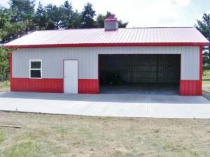 Pole buildings steel frame wv ky oh for sale in for Steel frame barns for sale