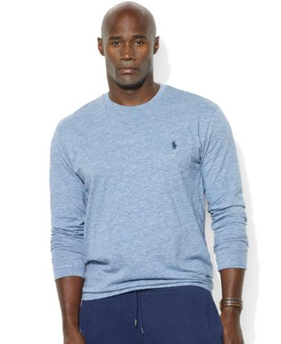 Polo Ralph Lauren Big and Tall Classic-Fit Long-Sleeve