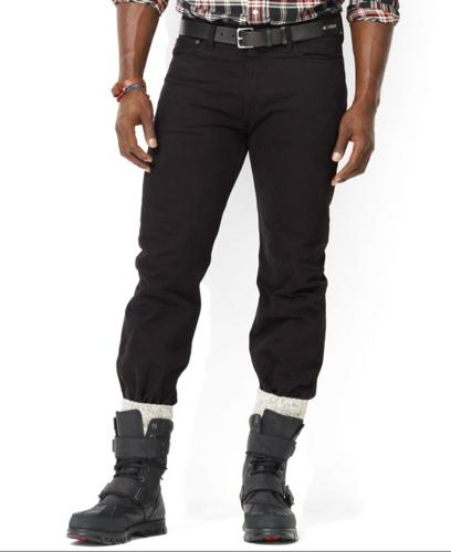 Polo Ralph Lauren Big and Tall Jeans, Classic Fit Hudson Wash