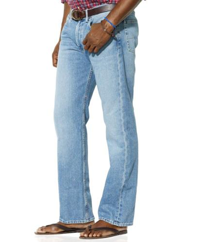 Polo Ralph Lauren Big and Tall Jeans, Classic Fit Perry Wash