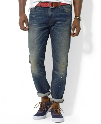 Polo Ralph Lauren Big and Tall Jeans, Classic Fit Stratford Wash