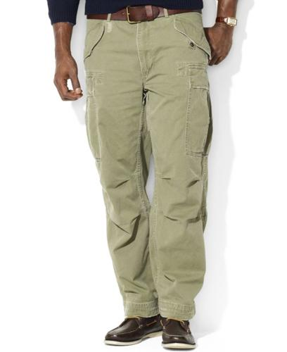 Polo Ralph Lauren Big and Tall Pants, Rugged Fatigue Chino Pants