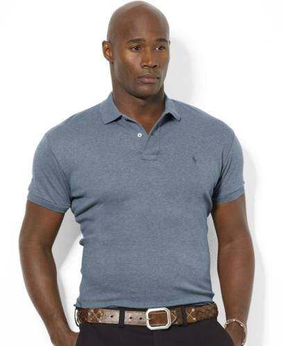 Polo Ralph Lauren Big and Tall Polo Shirt, Solid Interlock