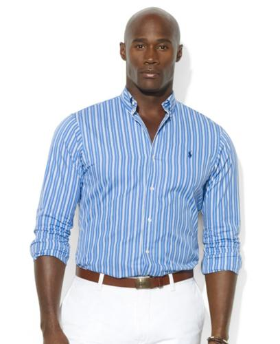 Polo ralph lauren big and tall shirt classic fit long for Big and tall polo shirts on sale