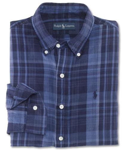 Polo Ralph Lauren Big and Tall Shirt, Classic Fit Plaid Shirt