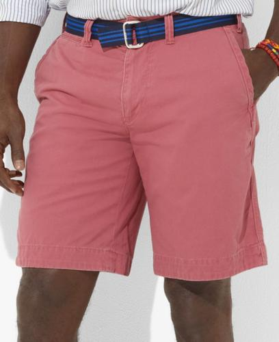 Polo Ralph Lauren Big and Tall Short, Rugged Bleecker Cotton Twill Short